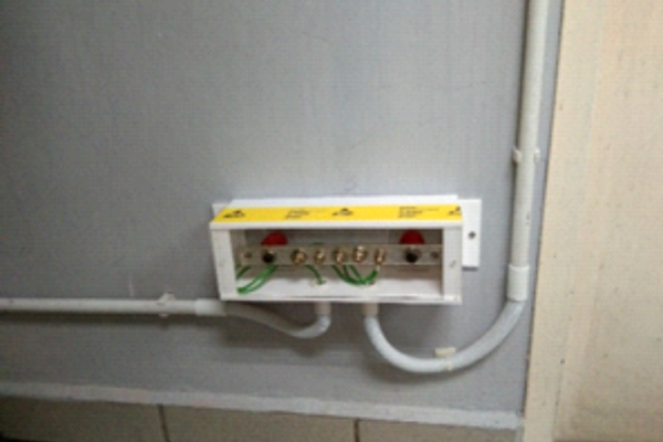 ESD Main Grounding Termination