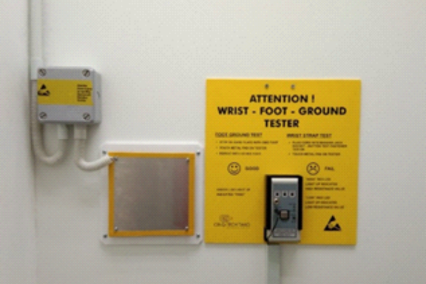 Static Discharge Palm Plate