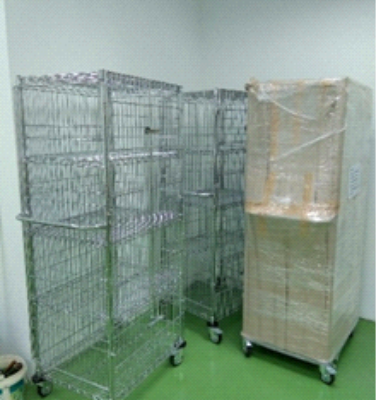 Security Shelving Cage